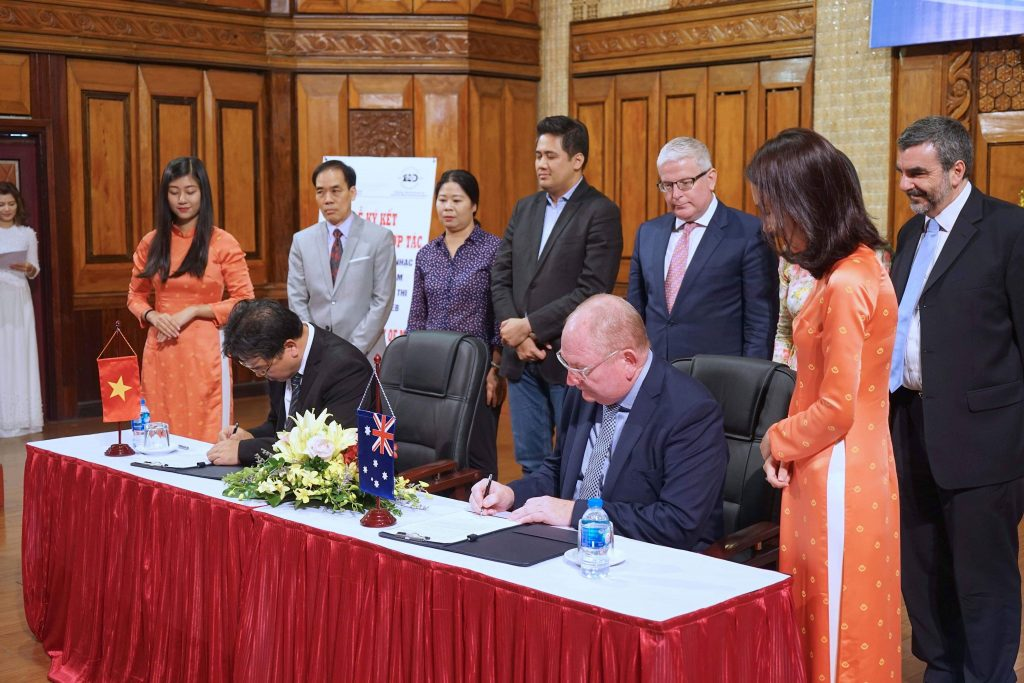 AMEB Signs Memorandum of Understanding with The Vietnam National Academy of Music